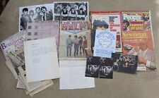 Vintage Beatles Memorabilia Lot Photos Newspapers Magazines Songbook Postcards