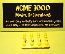 Corgi 268 Batman Batbike Replacement Repro 4 x Yellow Plastic Rockets Missiles