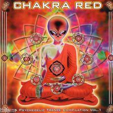 Chakra Red a psichedelica trance compilation vol 1-CD-Goa trance-tbfwm