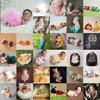 Toddler Girl Boy Baby Knit Clothes Photo Crochet Costume Photography Prop Outfit