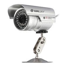 CCTV Caméra Cam CMOS 1/4 700TVL IR Vision Nocturne 30M Sécurité étanche IP66 PAL