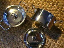 Stainless steel 12cm mini presentation handled casserole