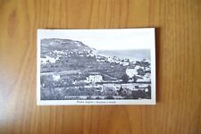 CARTOLINA PIETRA LIGURE PANORAMA MARE VIAGGIATA 1950 SUBALPINA XX