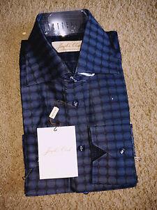 Joseph's Cloak hand Tailored Men Long Sleeve Shirt - 16.5 (42) Rare Fine!