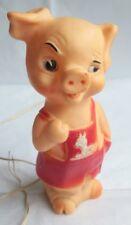 Vintage Combex Pig Night Light Needs Plug + Test