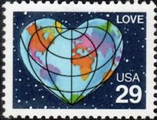 Love World Usa United States 29 Cent Mint Unused Stamp Mnh Scott #2535
