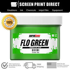 Fluorescent Green Screen Printing Plastisol Ink Low Temp Cure 16 Oz