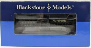 Blackstone Models B340219W HOn3 Weathered Rio Grande Stock Car #5710 LN/Box
