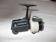 VINTAGE ABU CARDINAL 40 Model A  Fixed Spool Reel  --- In nice condition.