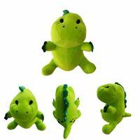 Cute Pickle The Dinosaur Plush Toy Soft Stuffed Plushie Doll Kids Christmas Gift