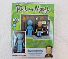 Mcfarlane Rick And Morty Smith Family Garage Rack 108 Piece Construction Set