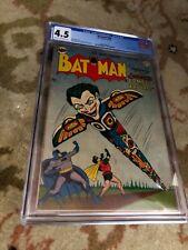 BATMAN 66 CGC 4.5 GOLDEN AGE DC COMIC JOKER FROM 1951