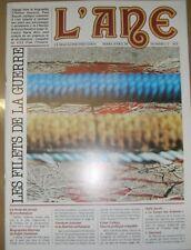 L'âne Le magazine freudien N° 15 1984 Psychanalyse La guerre Art thérapie Lehrs
