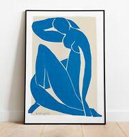 Matisse Exhibition Poster, Matisse Art Print, Wall Art, Vintage Art Print