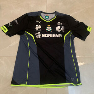 CLUB SANTOS LAGUNA MEXICO AWAY FOOTBALL SHIRT 2013-2014 JERSEY CAMISETA SZ XL