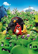 Angry Birds - A4 Glossy Poster - Film Movie Free Shipping #522