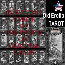 tarot card cards deck rare vintage divinatory cartomancy oracle a tale of love