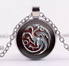 Game of Thrones Necklace/Pendant Dragon Silver