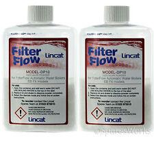 2 X Lincat Original cuadrado de Bioguard hervidor de agua CAL DESCALCIFICADOR Polvo Bolsita 50g
