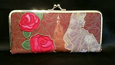 DISNEY COUTURE Sleeping Beauty Wallet Organizer Princess by Loop EUC