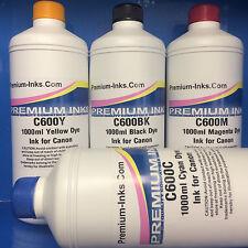4x Litre Refill Ink for CANON Pixma MG5150 MG5250 MG5350 MG5450 MG5550 Printer