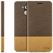 Hülle Huawei Honor 6C Enjoy 6S Schutzhülle Handy Tasche Flip Case Cover Braun