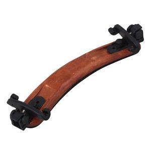 Violin Shoulder Rest 1/2 - 1/4 - 1/8 Size Rest - Maple Wood Body