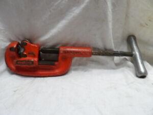 "Ridgid No. 2A/202 Heavy Duty Pipe Cutter 1/8"" to 2"""