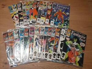 Fantastic Four Vol. 1 :  275 - 299 (1961), average  VFN / NM, US Originale