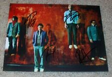 MUTEMATH SIGNED AUTOGRAPH 8x10 PHOTO C w/PROOF PAUL MEANY +3