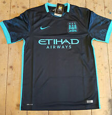 Nike Manchester City Adults Football Shirts (English Clubs)
