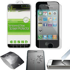 REAL TEMPERED GLASS FILM LCD SCREEN PROTECTOR FOR APPLE IPHONE 4 / 4S