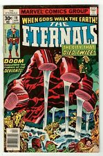 ETERNALS #10 (GD/VG) Jack Kirby Art & Story! MCU Movie low grade Marvel 1977