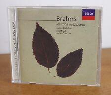 BRAHMS – 2CD – les trios avec piano – Katchen Suk Starker – Decca – 448 092-2