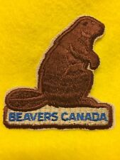 Canadian Boy Scouts-  Beavers Canada patch