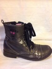 Chicas MONSTER HIGH Gris Oscuro Botas Talla 33