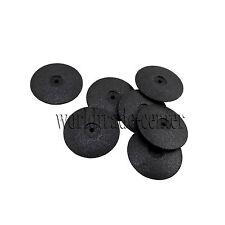 50pcs Dental Polishing Wheels Silicone Polisher Disk Porcelain Resin Teeth Black