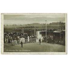 More details for ayr racecourse, the winning post, old postcard by davidson unused