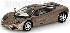 McLaren F1 Roadcar 1993-97 Gray Gray Metallic 1:43 Minichamps