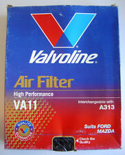 VALVOLINE H/ PERFORMANCE AIR FILTER VA11 A313 FORD LASER MAZDA 323 NEW OLD STOCK
