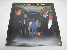 THE WHO RECORD ALBUM IT'S HARD 23731-1 *GREAT  SHAPE* (R301)