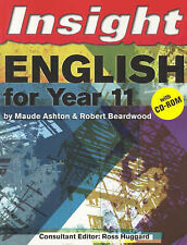 Insight English for Year 11: With CD; Maude Ashton and others. VGC