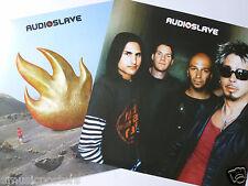 AUDIOSLAVE U.S. PROMO POSTER -Soundgarden,Rage Against The Machine,Chris Cornell