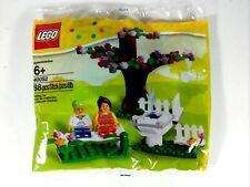40052 SPRINGTIME SCENE lego legos set NEW sealed poly bag EXCLUSIVE town city