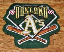 "Oakland A's Athletics Sleeve Polo Sized Patch 3.5"" x 3"" Embroidered NEW *P7"