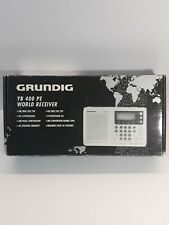 Grundig Yb 400 Pe World Receiver Am Fm Short Medium Long Wave New Open Box