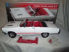 GMP 1966  Ford Fairlane GT Limited Edition 1:18 Scale Die Cast #1 of 996-NIB- FS