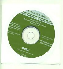 NEW DELL ORIGINAL RE-INSTALLATION CD WINDOWS XP PROFESSIONAL SP2 FOR DELLS ONLY!
