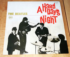 The Beatles A Hard Day's Night Lp Red JAPAN Apple Records #AP-8147 w lyrics