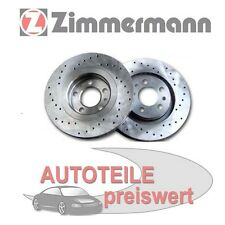 2 Zimmermann Discos Freno Deportivos Delant. Citroen C5 C6 Peugeot 407 607